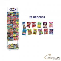 COLIS FINI 28 BROCHES +28 CARTONS 80G au tarif pro