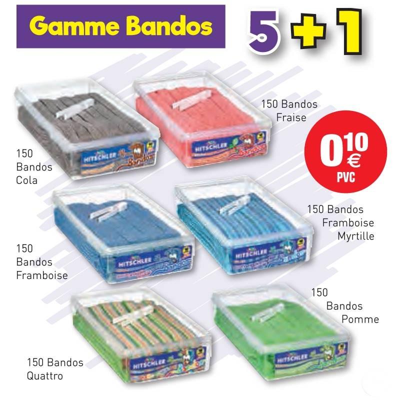 COLIS HITSCHLER BANDOS 5+1 au tarif pro