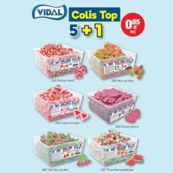COLIS VIDAL TOP 5+1 au tarif pro