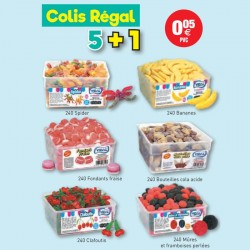 COLIS VIDAL REGAL 5+1 au tarif pro