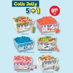 COLIS VIDAL JELLY 5+1 au tarif pro