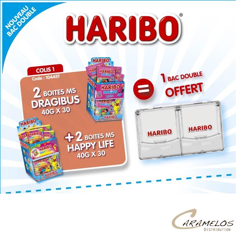 COLIS HARIBO BACS DOUBLE AP1 au tarif pro
