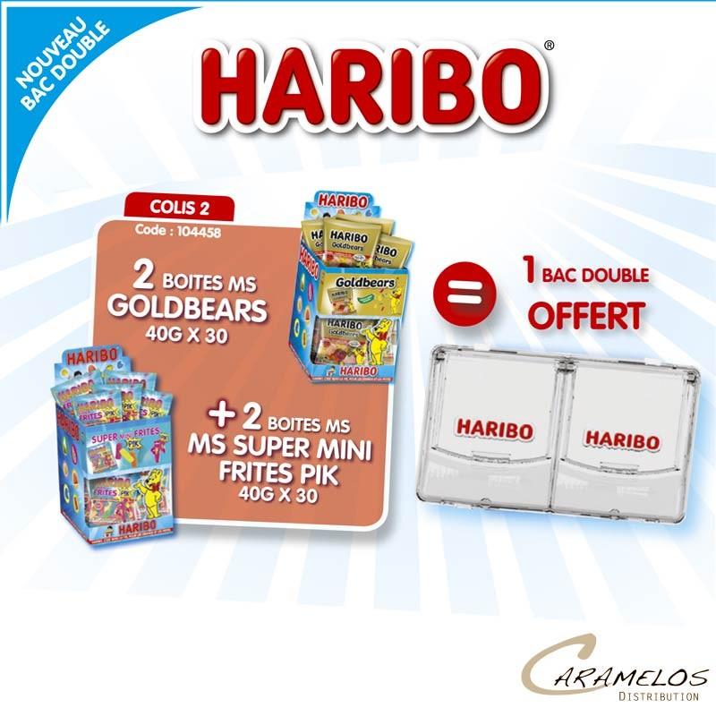 COLIS HARIBO BACS DOUBLE AP2 au tarif pro