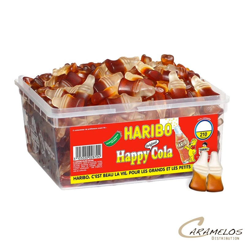 HAPPY COLA  x210  HARIBO au tarif pro