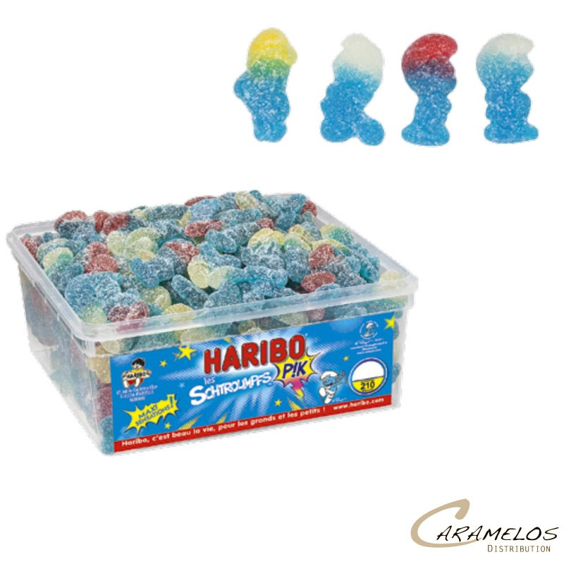 SCHTROUMPFS PIK  x210  HARIBO au tarif pro