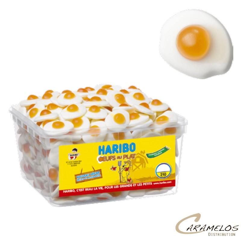 OEUFS AU PLAT  x210  HARIBO au tarif pro