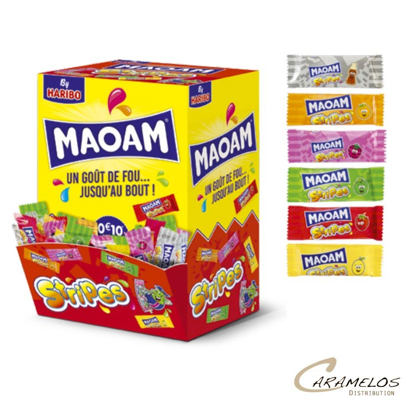 MAOAM STRIPES  X150  HARIBO au tarif pro