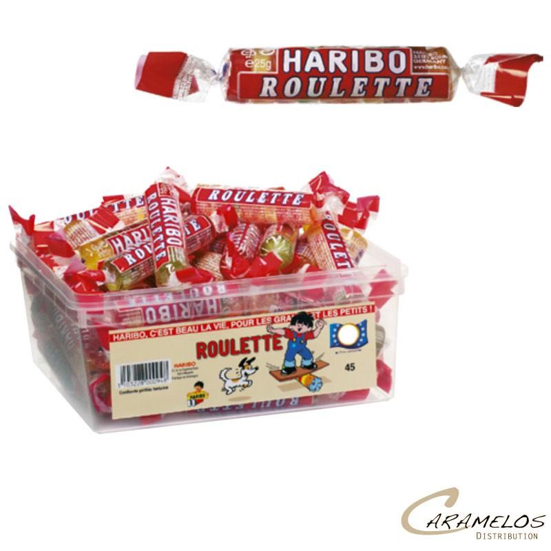 ROULETTES FRUITS  x45  HARIBO au tarif pro