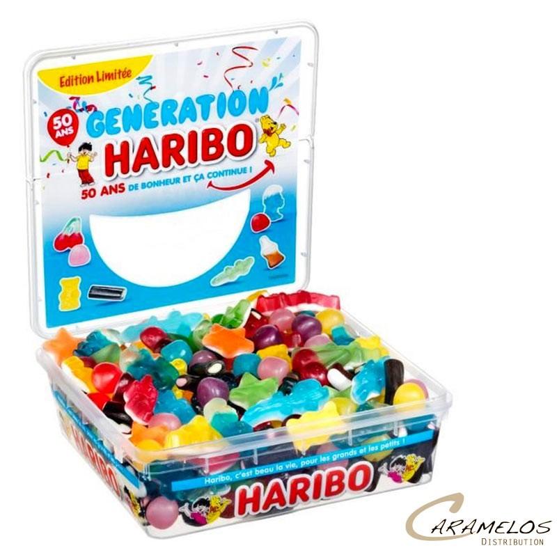 BOITE GENERATION HARIBO 700G au tarif pro