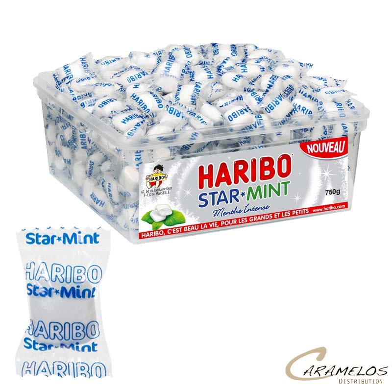 STARMINT MENTHE 750G HARIBO au tarif pro
