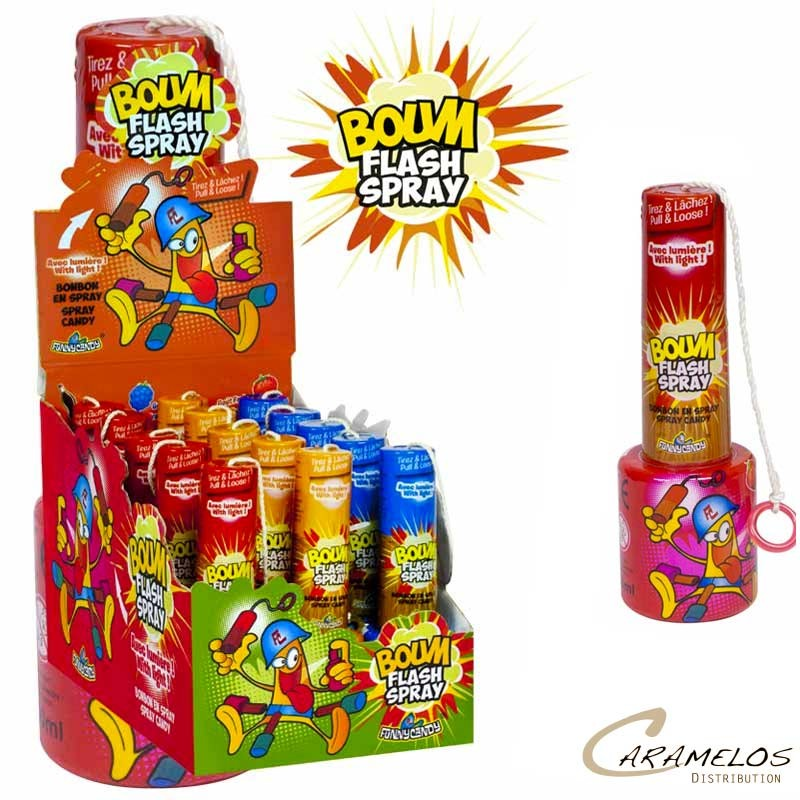 BOUM FLASH  SPRAY  BRABO au tarif pro