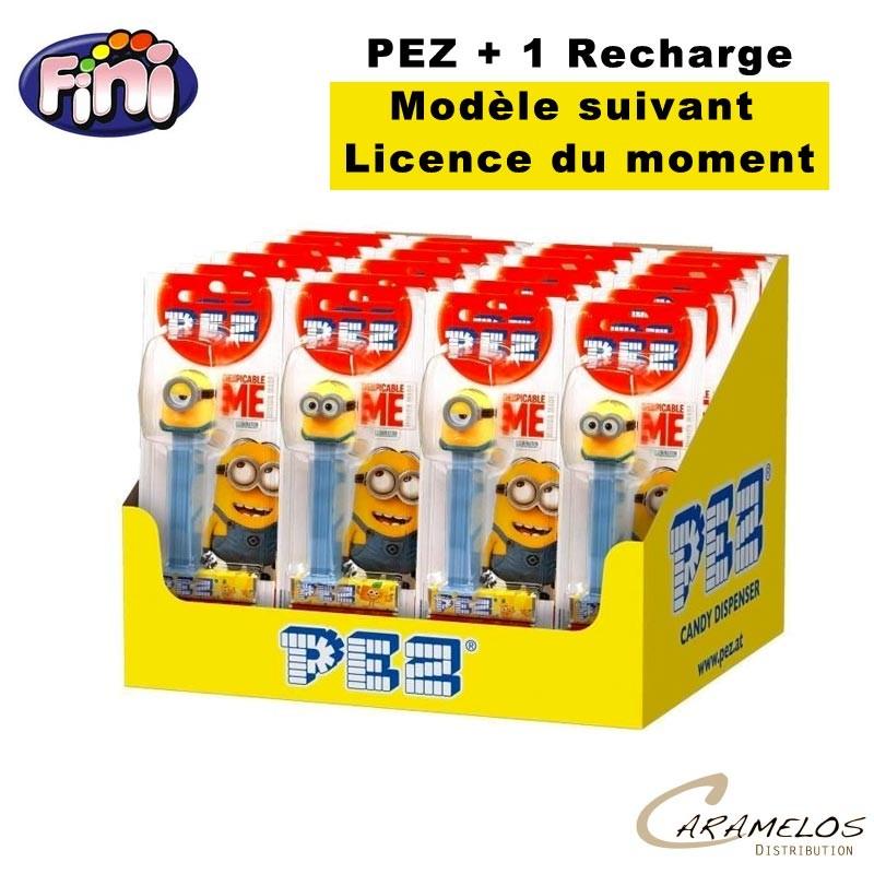 PEZ FIGURINES + 1 RECHARGE au tarif pro