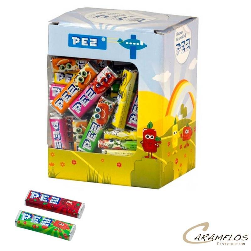 BOITE 100 RECHARGES PEZ FRUITS au tarif pro