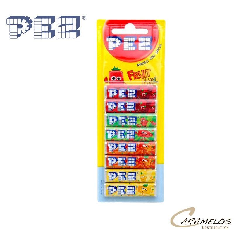 PEZ BLISTER DE 8 RECHARGE FRUIT au tarif pro