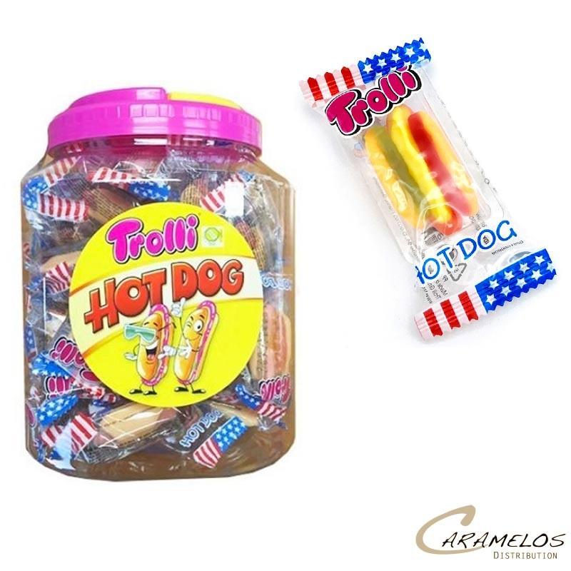 HOT DOG  X60  TROLLI au tarif pro