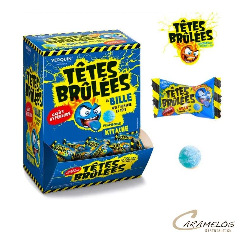 TETES BRULEES KITACHE FRAMBOISE X300 au tarif pro
