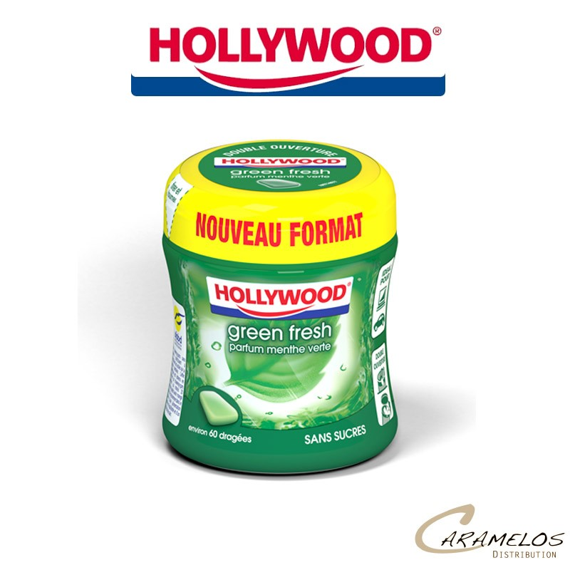 bottle  GREEN FRESH 87G (60D) HOLLYWOOD au tarif pro