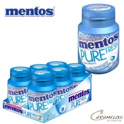 MENTOS BOTTLE FRESH MINT PURE FRESH 30DG au tarif pro