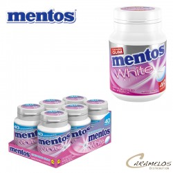 MENTOS BOTTLE WHITE BUBBLE 40 DG au tarif pro