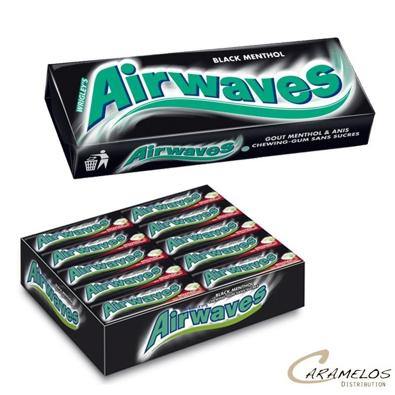 AIRWAVES BLACK MENTHOL au tarif pro