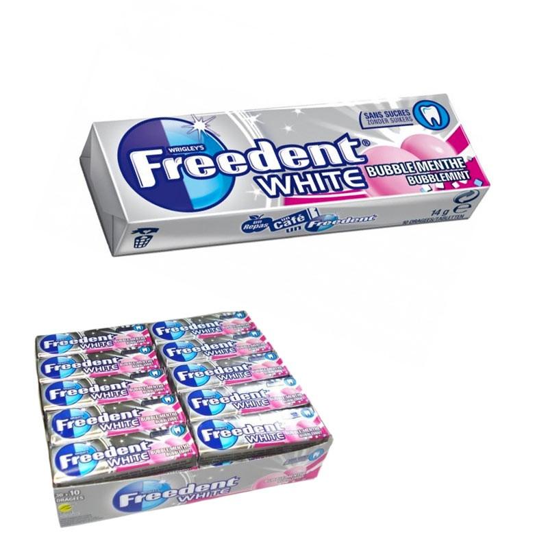 FREEDENT WHITE BUBBLE MENTHE 30D au tarif pro