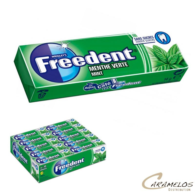 FREEDENT MENTHE VERTE 30D au tarif pro