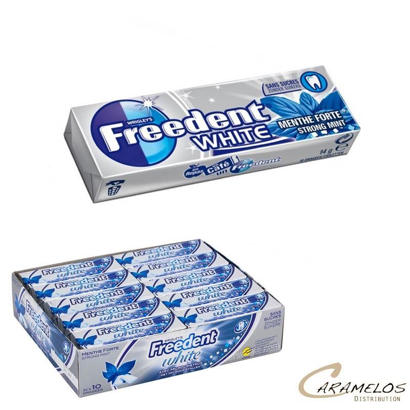 FREEDENT WHITE MENTHE FORTE 30D au tarif pro