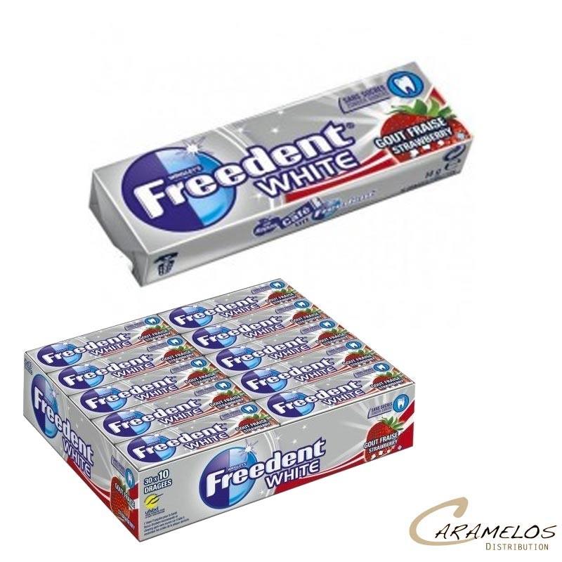 FREEDENT WHITE FRAISE 30D au tarif pro