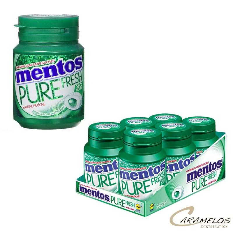 MENTOS BOTTLE CHLORO PURE FRESH 30DG au tarif pro