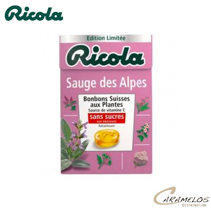 RICOLA SAUGE DES ALPES S/S 50G au tarif pro