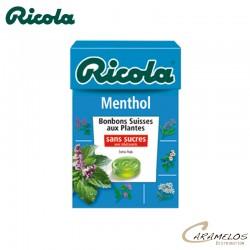RICOLA MENTHOL S/S  50G au tarif pro