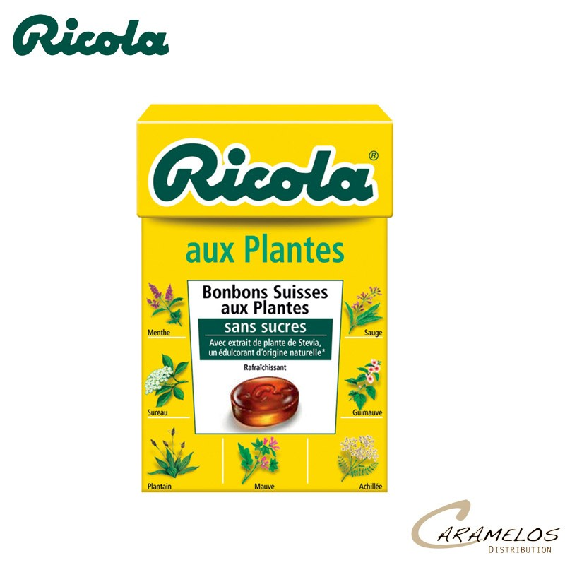 RICOLA AUX PLANTES S/S  50G au tarif pro