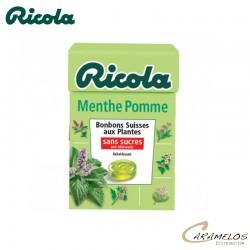 RICOLA MENTHE POMME S/S  50G au tarif pro