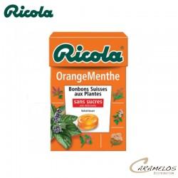 RICOLA ORANGE-MENTHE S/S  50G au tarif pro