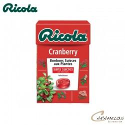RICOLA CRANBERRY  S/S  50G au tarif pro