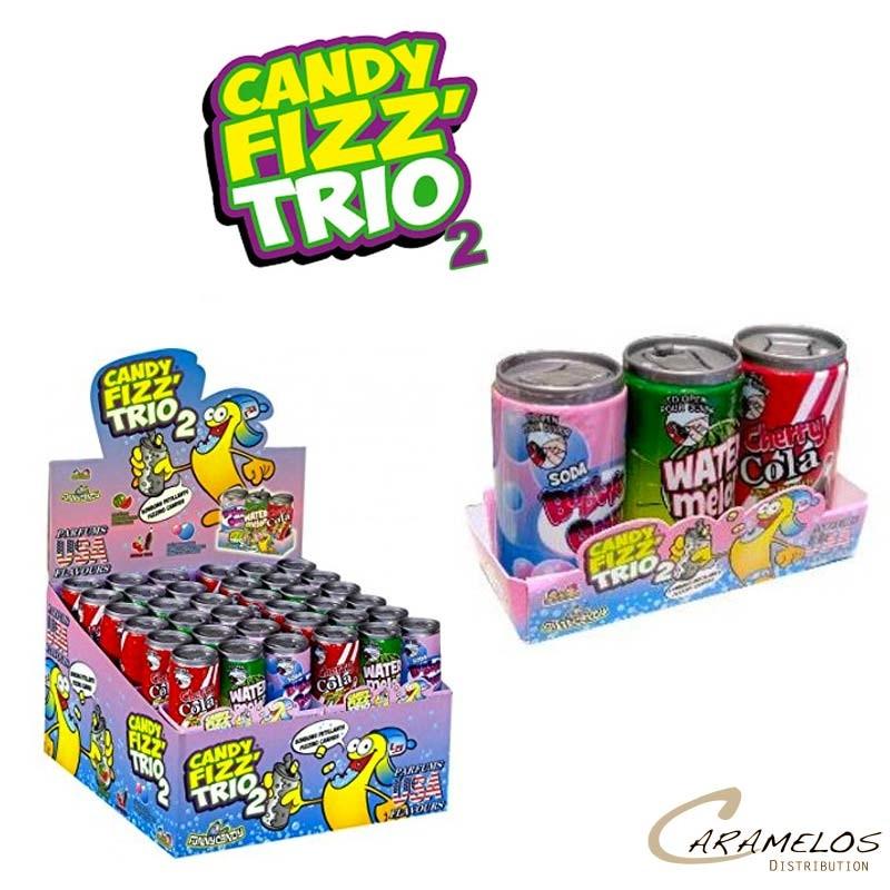 CANDY FIZZ TRIO 2 american flavour BRABO au tarif pro