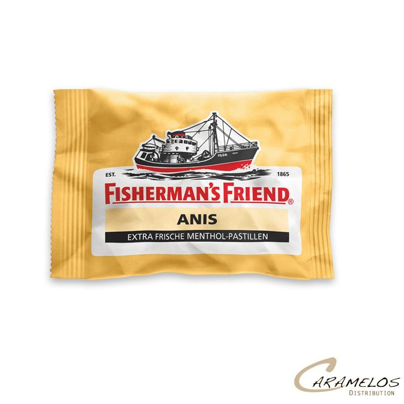 FISHERMAN JAUNE EXTRA FORT ANIS 25G au tarif pro