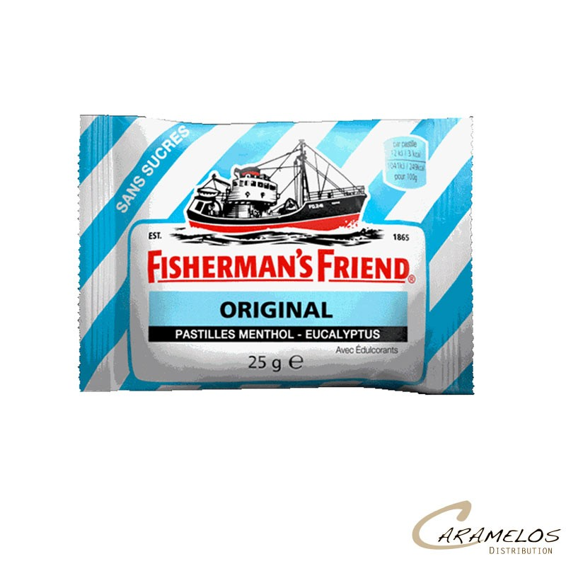 FISHERMAN'S BLEU  MENTHOL EUCALYPTUS 25G au tarif pro