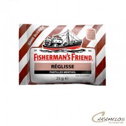 FISHERMAN MARRON REGLISSE MENTHOL S/S au tarif pro