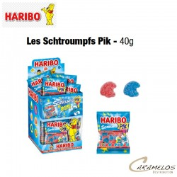 30 COLOR SCHTROUMPFS PIK 40G  HARIBO au tarif pro
