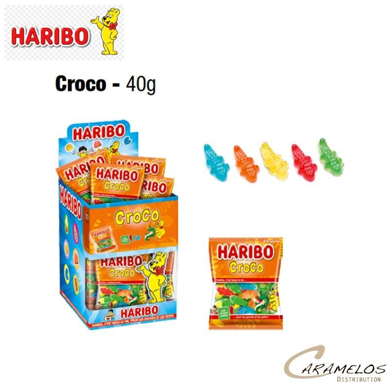 30 HARI CROCO MINI SACHET HARIBO au tarif pro