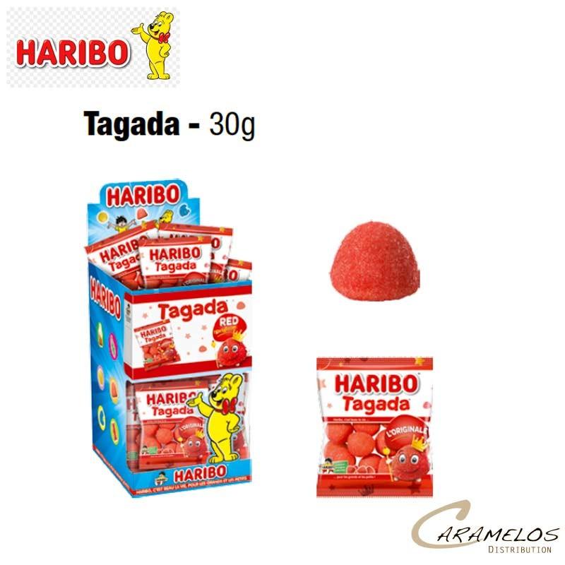 30 TAGADA MINI SACHET HARIBO au tarif pro