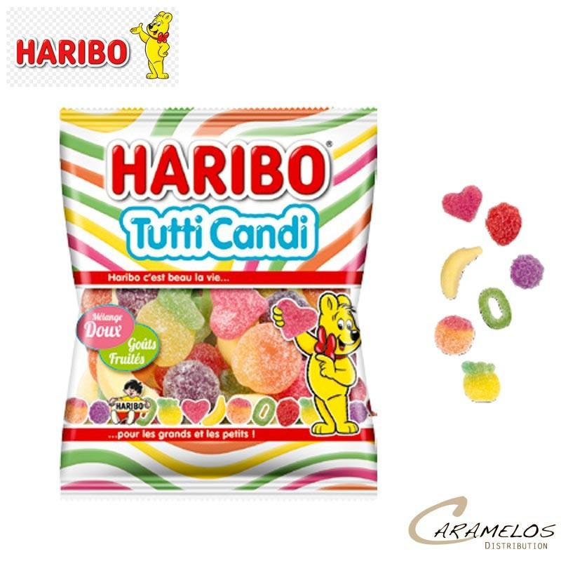 TUTTI CANDI 100 G  HARIBO au tarif pro