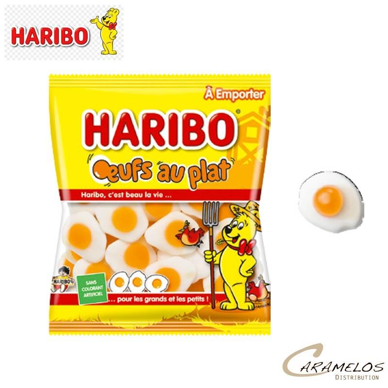 OEUFS AU PLAT SACHET 120 G HARIBO au tarif pro