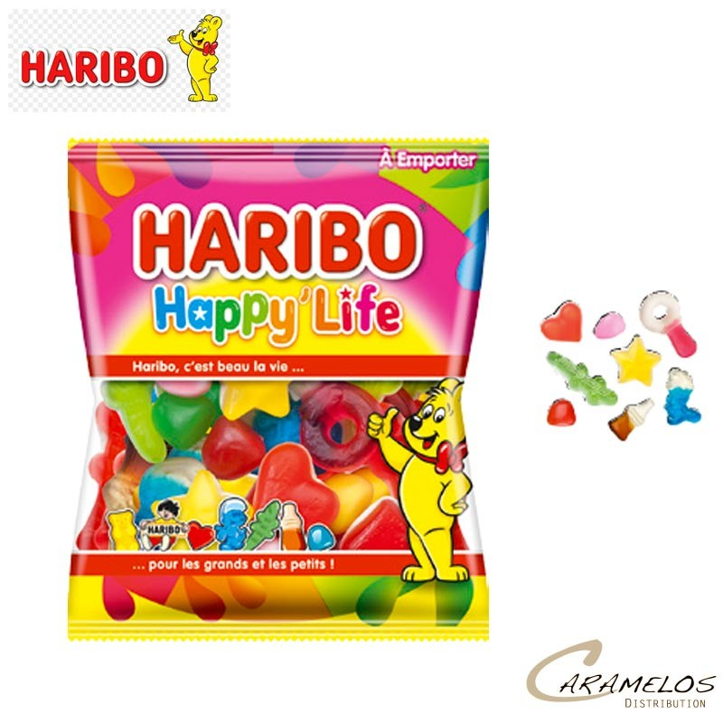 HAPPY LIFE 120 G  HARIBO au tarif pro