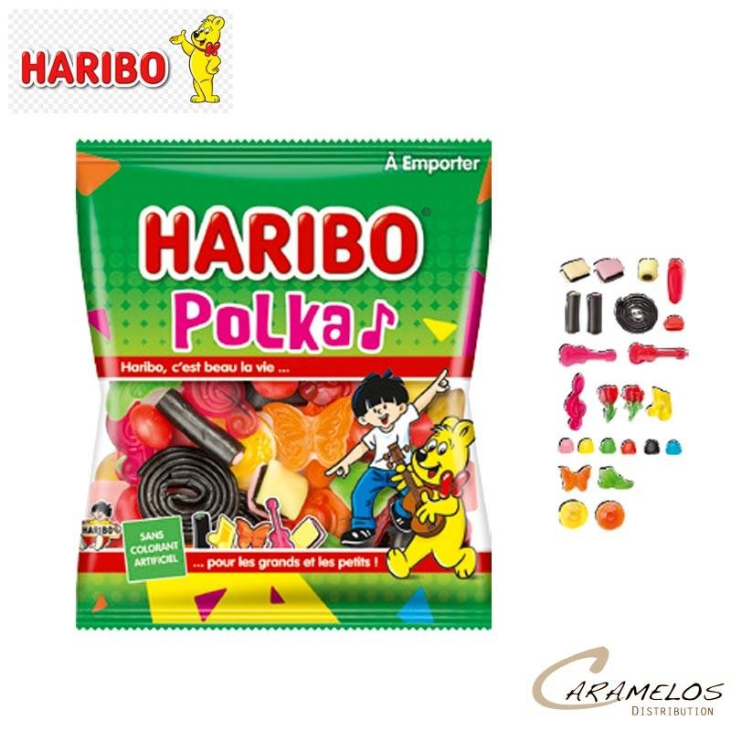 POLKA  SACHET 120 G HARIBO au tarif pro