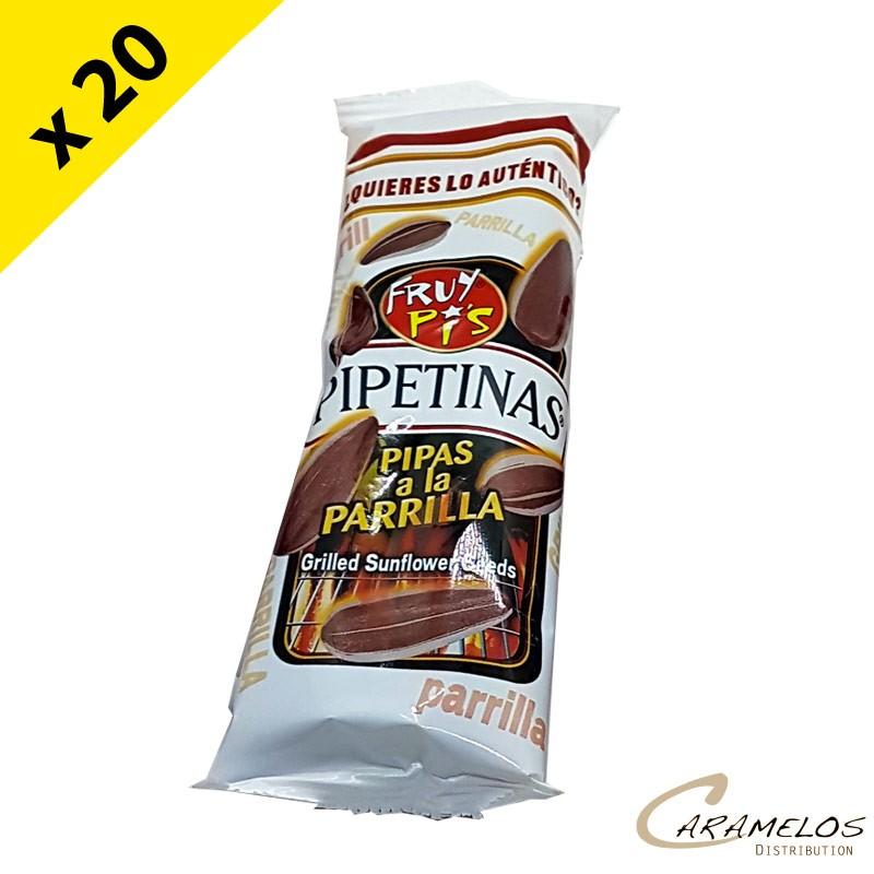 PIPAS BARBECUE (parrilla) X20