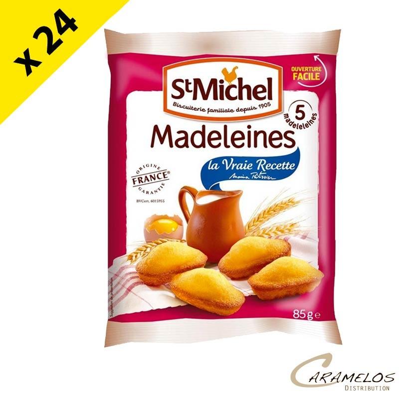 MADELEINE NATURE COQUILLE 85G ST MICHEL