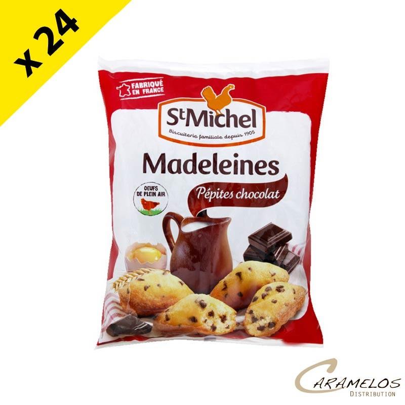 MADELEINE PEPITE CHOCO COQ 75G ST MICHEL