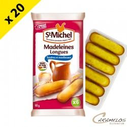 MADELEINE LONGUE NATURE X6 80G ST MICHEL